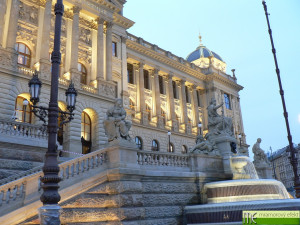 Historic building of the National Museum, Wenceslas Square_Prague_custom made countertops with integrated washbasins Fjord50